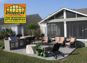 Outdoor kitchen porch outfitters